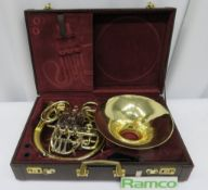 Gebr-Alexander Mainz 103 French Horn With Case. Serial Number: 21791. Please Note That Thi