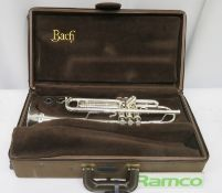 Vincent Bach Stradivarius 43 Trumpet With Case. Serial Number: 522533. Please Note That Th