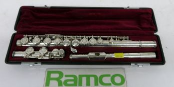 Yamaha 411 Flute Series II With Case. Serial Number: 311776. Please Note That This Item H