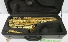 Henri Selmer Super Reference 54 Alto Saxophone With Case. Serial Number: N.698569. Please