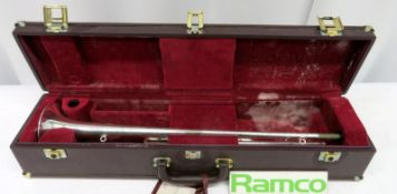 Besson International BE706 Fanfare Trumpet With Case. Serial Number: 890888. Please Note T