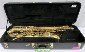Henri Selmer Super Action 80 Serie 2 Baritone Saxophone With Case. Serial Number: N527543.