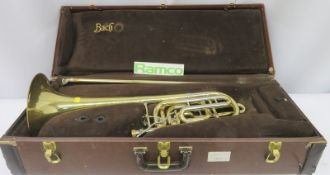 Vincent Bach Stradivarius 50B Trombone With Case. Serial Number: 81000. Please Note That T