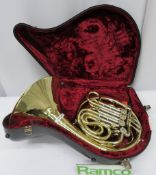 Paxman 20L Horn With Case. Serial Number: 3244. Please Note This Item Has Not Been Tested