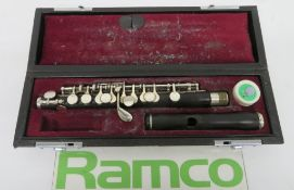Yamaha PC32 Piccolo With Case. Serial Number: 44794. Please Note That This Item Has Not Be