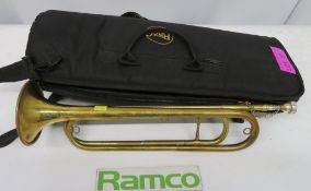 Unbranded Cavalry Trumpet. Please Note This Item Has Not Been Tested And Will Be Sold As S