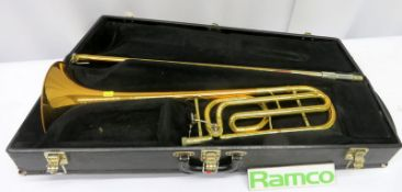 C G Conn 88H Trombone With Case. Serial Number: 817081. Please Note That This Item Has N