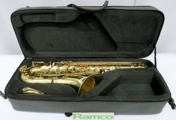Henri Selmer Super Action 80 Serie 3 Tenor Saxophone With Case. Serial Number: N.657313.