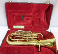 Besson BE967 Sovereign Euphoniums With Case. Serial Number: 860305. Please Note That This