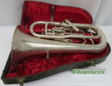 Boosey & Hawkes Imperial Euphonium With Case. Serial Number: 545811. Please Note This Item