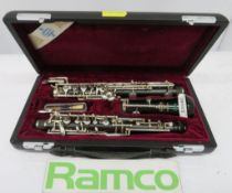 Buffet Green Line BC Oboe With Case. Serial Number: G11814. Please Note That This Item Has