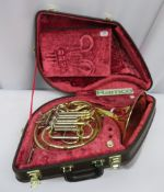 Yamaha YHR 667V French Horn With Case. Serial Number: 001738. This Item Has Not Been Teste
