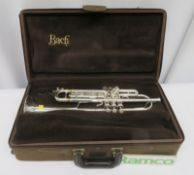 Vincent Bach Stradivarius 43 Trumpet With Case. Serial Number: 532684. Please Note That Th