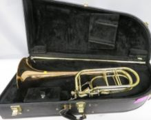 Edwards B-DBN96 trombone with case. Serial number: 0907031. Please note that this item is