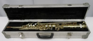 Henri Selmer Super Action 80 Series 2 soprano saxophone with case. Serial number: N.53052