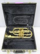 Yamaha Xeno YCR8335 cornet with case. Serial number: C13648. Please note that this item i