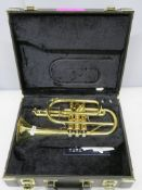 Yamaha Xeno YCR8335 cornet with case. Serial number: C12700. Please note that this item i