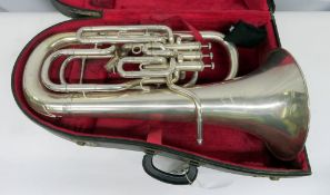 Boosey & Hawkes Imperial euphonium with case. Serial number: 498404. Please note that this