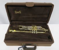 Bach Stradivarius 37 trumpet ML with case. Serial number: 563952. Please note that this it