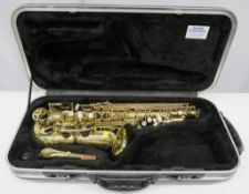 Henri Selmer Super Action 80 Series 3 alto saxophone with case. Serial number: N.733160.