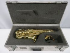 Henri Selmer Super Action 80 Series 2 alto saxophone with case. Serial number: N.532176.