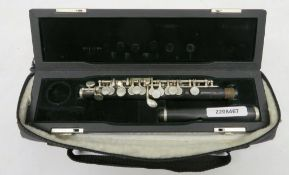Pearl Flute PFP105 piccolo with case. Serial number: 3640. Please note that this item is s