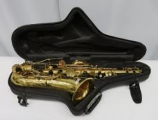 Henri Selmer Reference 36 tenor saxophone with case. Serial number: N.699685. Spares or r