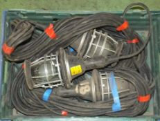 Heavy duty workshop lamps & cables