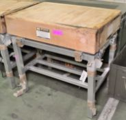 Row & Sons Butchers Block L920 x W610 x H860mm.