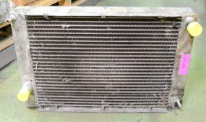 Bungheinrich 0505 024 0000 Aluminium Radiator.