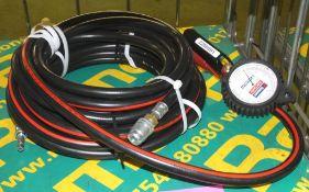 Schrader Tyre Inflator Pneumatic