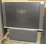 Hitachi Ultravision C50-F550P TV/Video Multi System