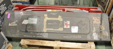 Glassfibre Shipping Case L1880 x W540 x H240mm.