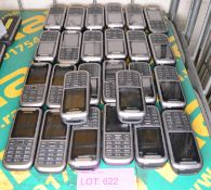 26x Samsung Mobile Phones - Batteries may be missing.