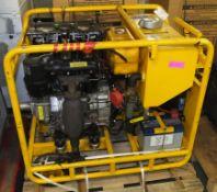 EC Hopkins Hydraulice Power pack - SSP/14/2000/2
