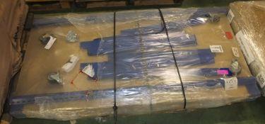 Key Industrial Racking Mobile 4 Shelf L 1840mm x W 920mm x H 1930mm