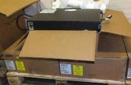 3x APC Smart X 2200 LV Smart Battery Power Supply Units
