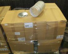 Round Foil Plates & Lids 210mm x 40mm