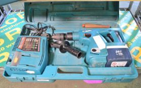 Makita 24V Cordless Hammer Drill & Charger in Carry Case.