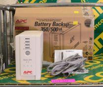 APC CS500 Back-UPS.