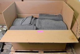 26x Dark Grey Blanket Wool/Synthetic.