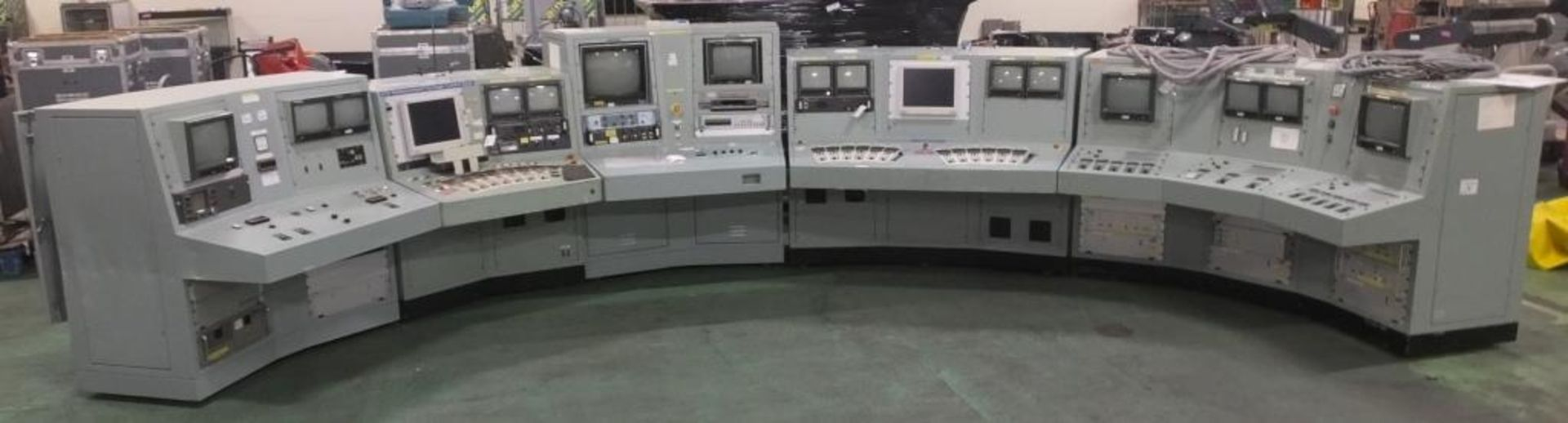 Ex Nuclear Plant Reactor Control / Monitoring System