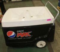 Pepsi Max mobile trolley