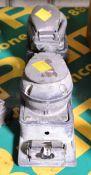 2x Stuhr Model 0S800 Pneumatic Orbital Sander.