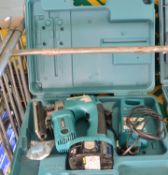 Makita 4334D Jigsaw 18V 1x Battery & Charger in Carry Case.