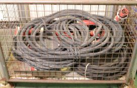 6x Electrical Power cable 3 Phase 63A.