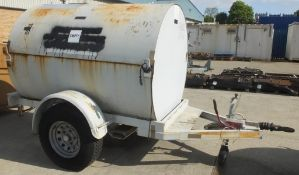 Trailered Mobile Fuel Dispensing Tank 2140 Litres