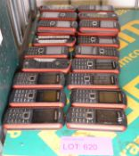 24x Samsung Mobile Phones - Batteries may be missing.