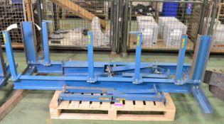 2x Steel Storage Racking Stands.