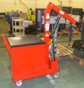 Slingsby counterbalance engine crane - CTC152